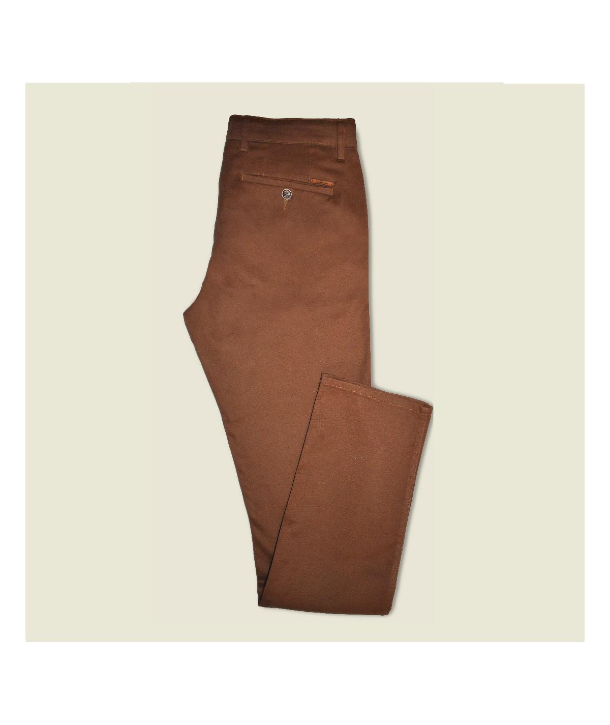 Pantalon Slack Rouille