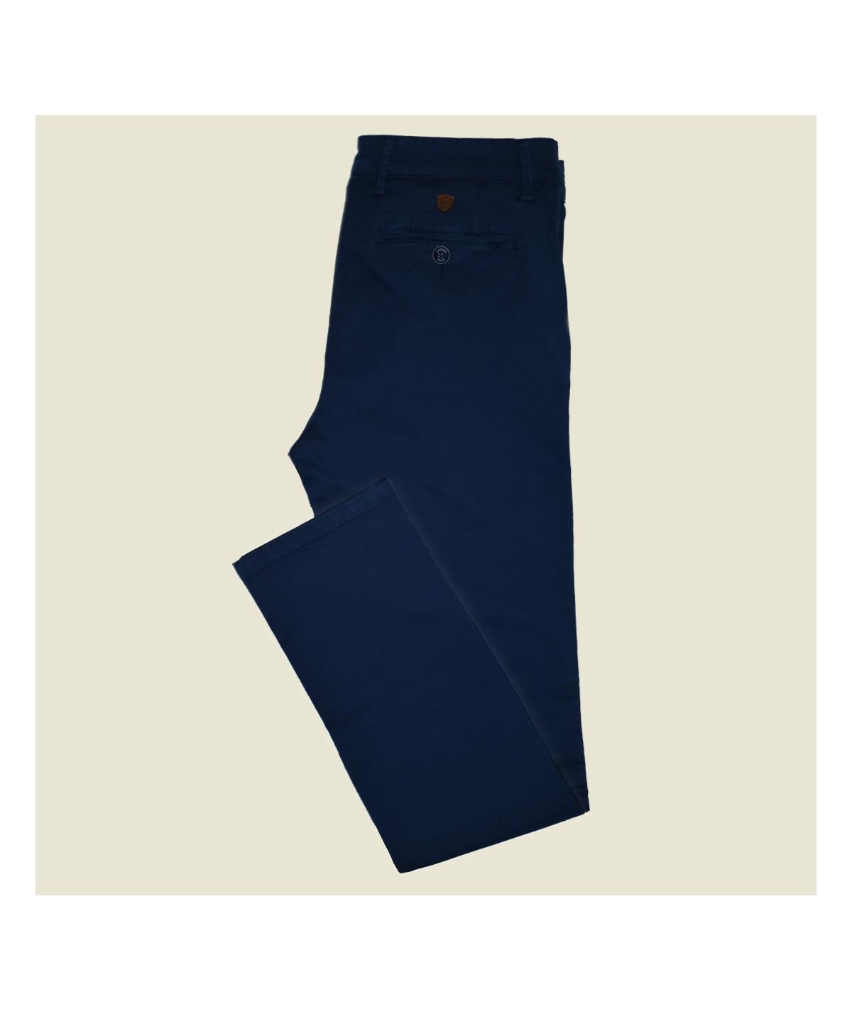 Pantalon Chino Grand Taille